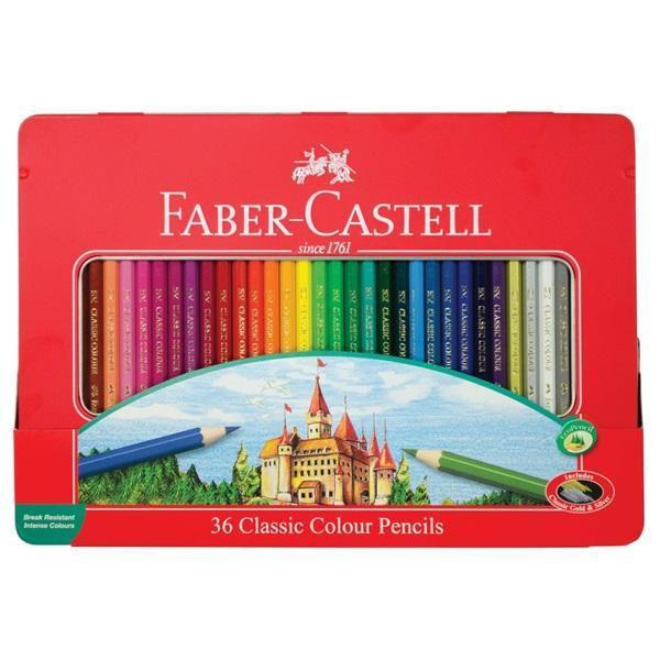 Купить Graf von Faber-Castell 115886 Карандаши цветные Замок (36штуп)